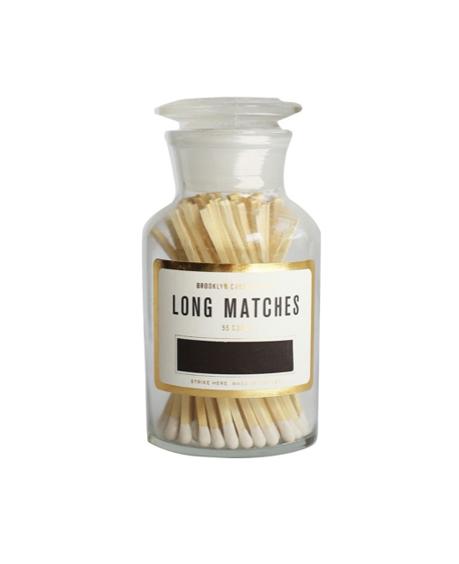 Apothecary Match Bottle, 55 ct