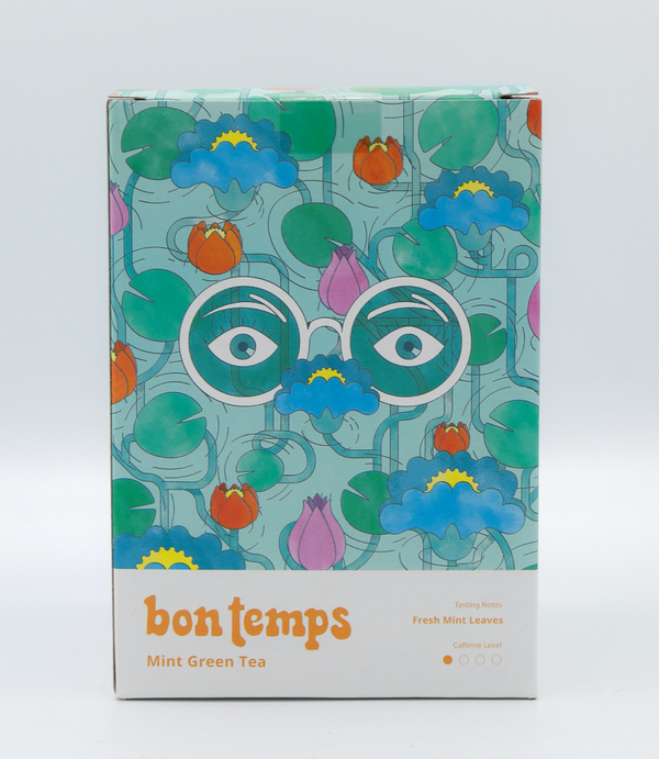 Bon Temps Mint Green Tea Bags, 20 ct