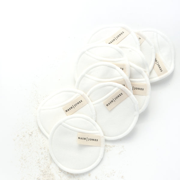 Bamboo Wash Pads, 10ct