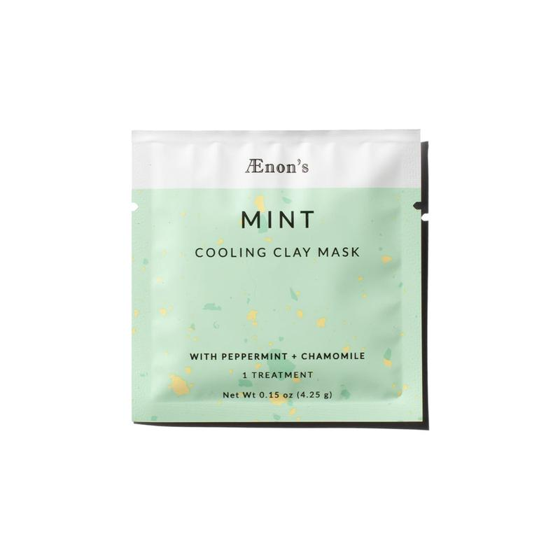 Mint Cooling Clay Mask, 1ct