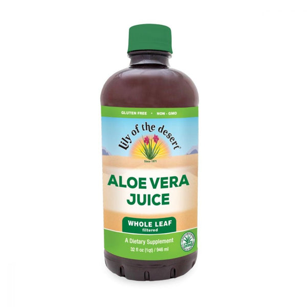 Aloe Vera Juice Whole Leaf, 32oz