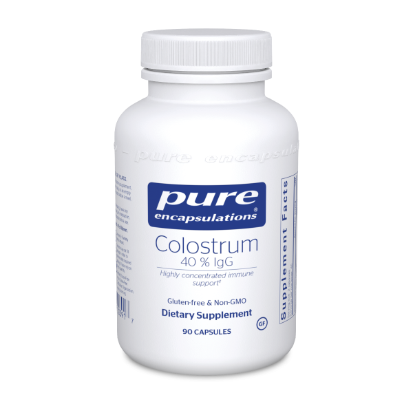 Colostrum 40% IgG Capsules, 90ct