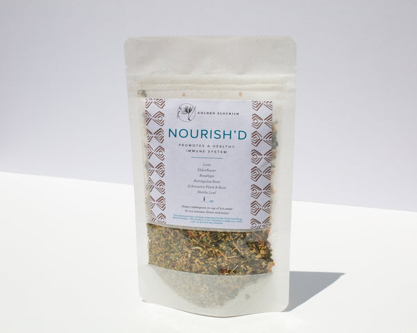 Nourish'D Tea Loose Leaf, 1 oz
