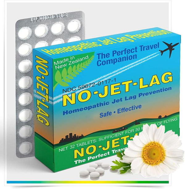 No Jet Lag Tablets, 32ct