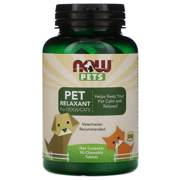 Pet Relaxant for Dogs/Cats, 90 ct