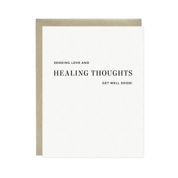 Card, Healing Thoughts