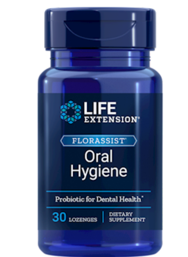 Florassist Oral Hygiene lozenges, 30ct