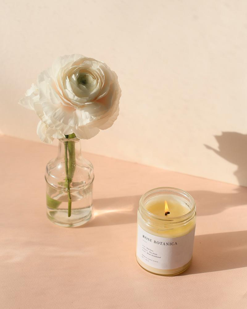 Rose Botanica Candle