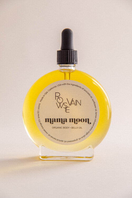 Mama Moon Body + Belly Oil, 100 ml