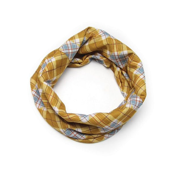 Warm Plaid Face Covering, 1 ct
