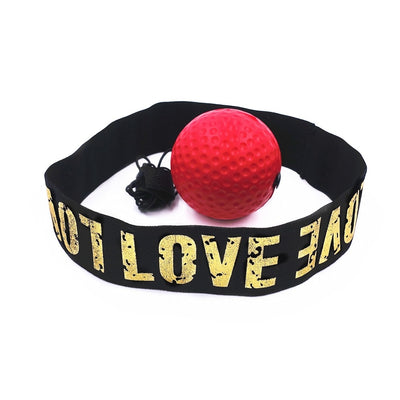 BOXING REFLEX BALL HEADBAND