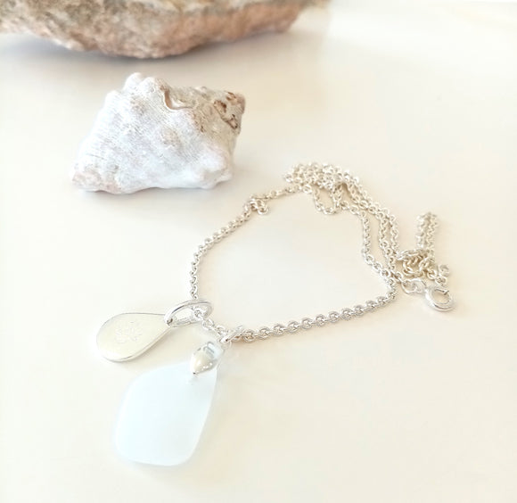 White Seaglass Collection