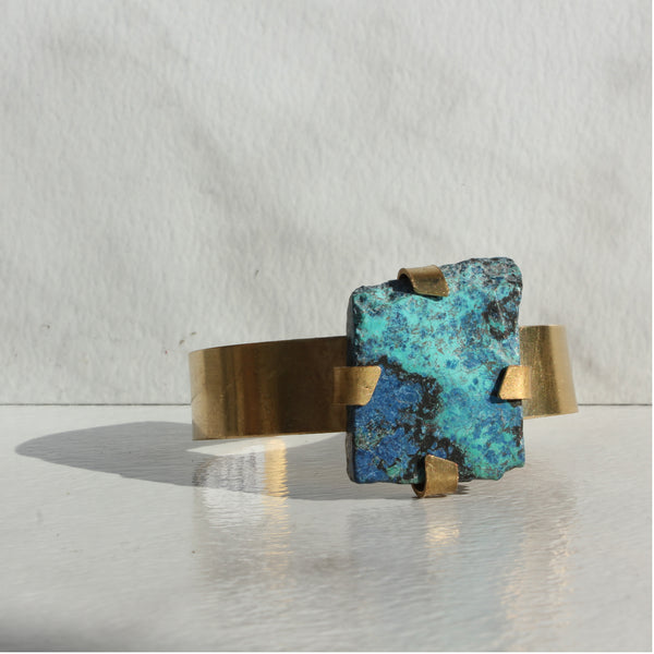 THE GEM AND BRASS CUFF