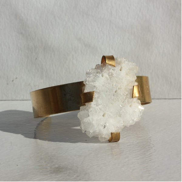 THE GEM AND BRASS CUFF GEODE