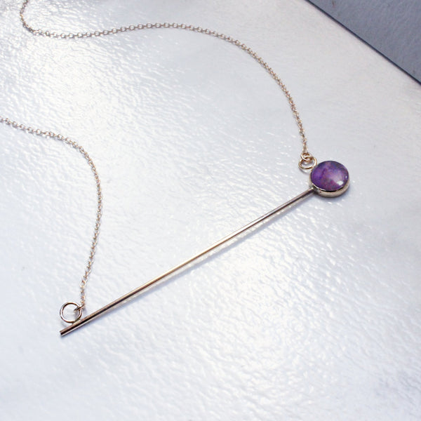 Cab Bar Necklace Wholesale-M.Liz Jewelry