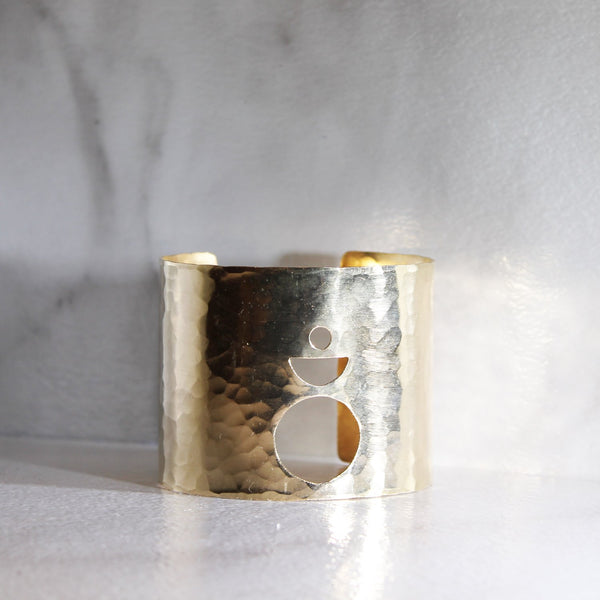 Circle Cuffs-M.Liz Jewelry