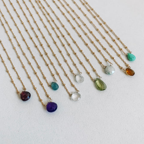 Birthstone Teardrop Collection