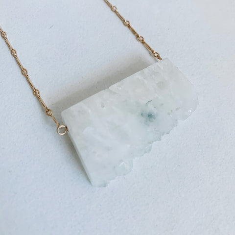 Clear Quartz Fancy Necklace