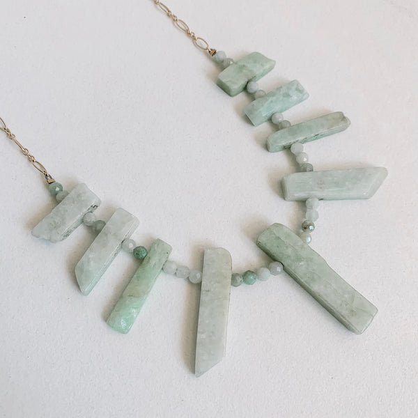 Jade Spike Necklace