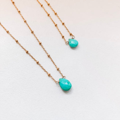 Turquoise Mama and Mini Set