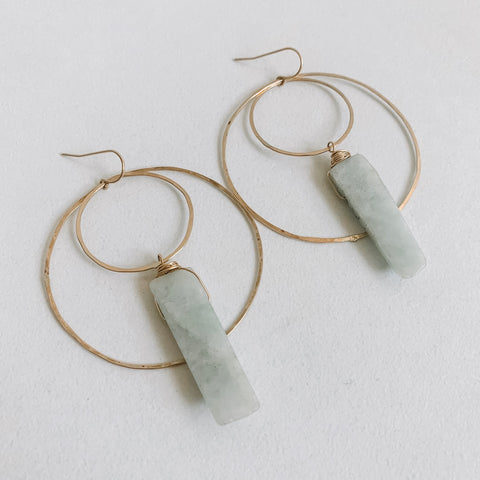 Jade Insider Earrings
