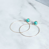 Stud and Hoop-M.Liz Jewelry