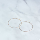 The Classic Hammered Hoops-M.Liz Jewelry