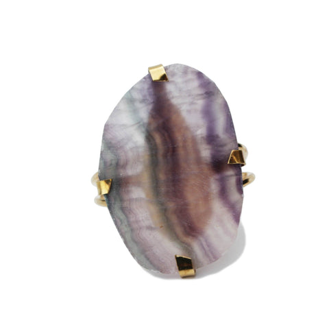 The Gemstone Cuff: Flourite Wholesale-M.Liz Jewelry