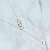 The Karma Lariat Necklace-M.Liz Jewelry