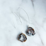 The Threader Earring with Geode-M.Liz Jewelry