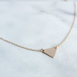 Triangle Necklace-M.Liz Jewelry