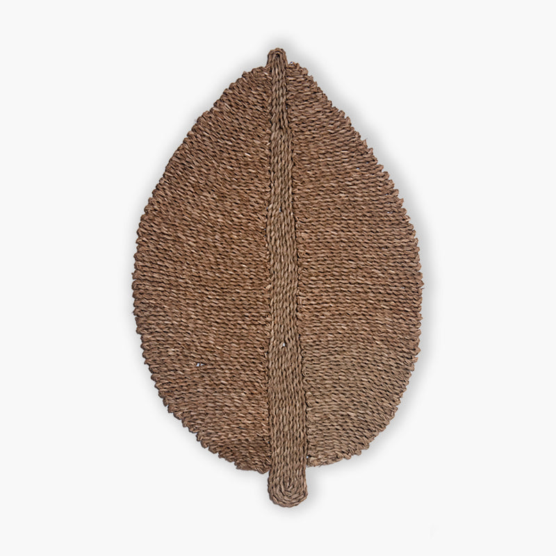 Kabuga Woven sea grass leaf XL
