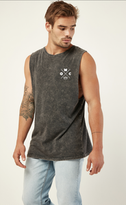 One Man Crew -  stone wash - Singlet