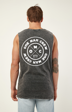 Load image into Gallery viewer, One Man Crew -  stone wash - Singlet