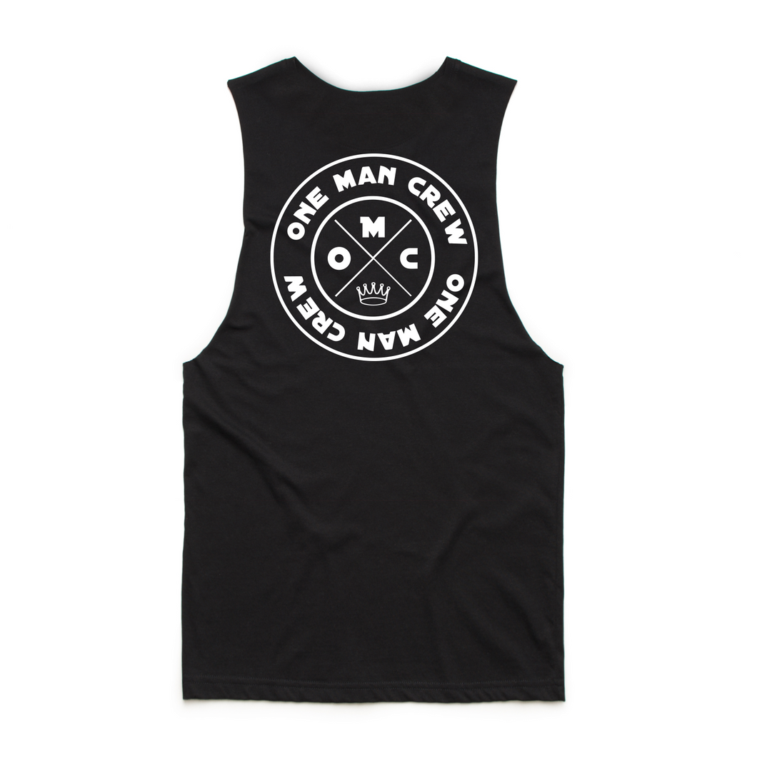 One Man Crew - Muscle Singlet