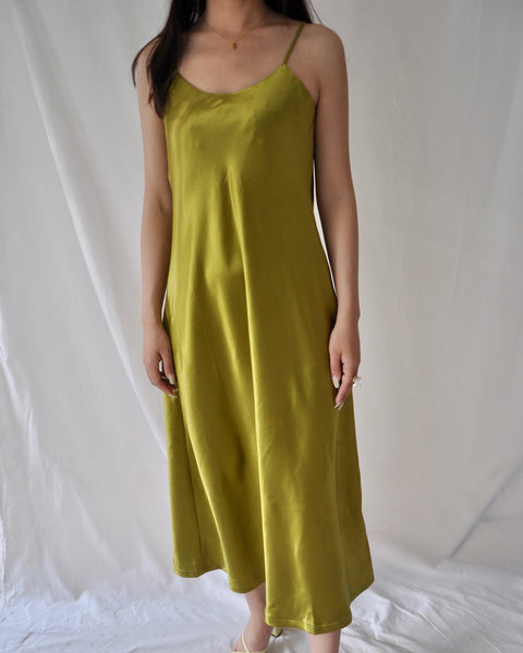 Stain long dress