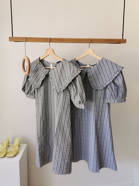 Peter Pan gingham dress