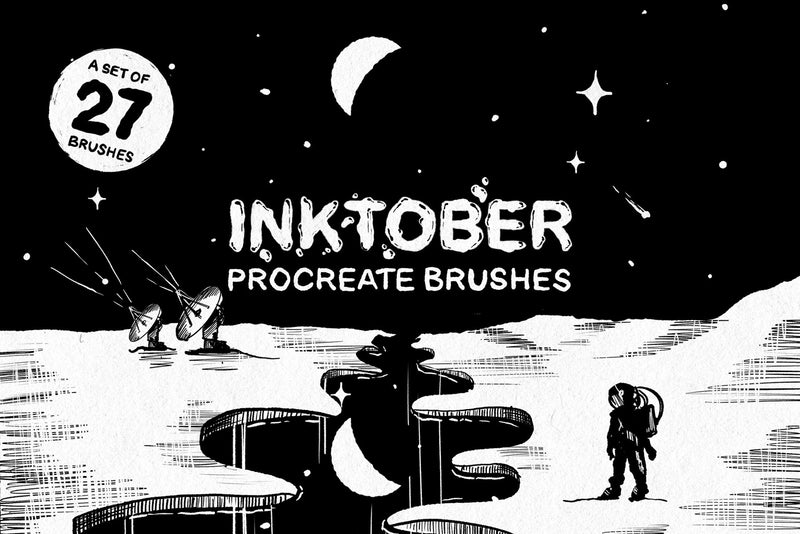 Inktober Procreate Brushes