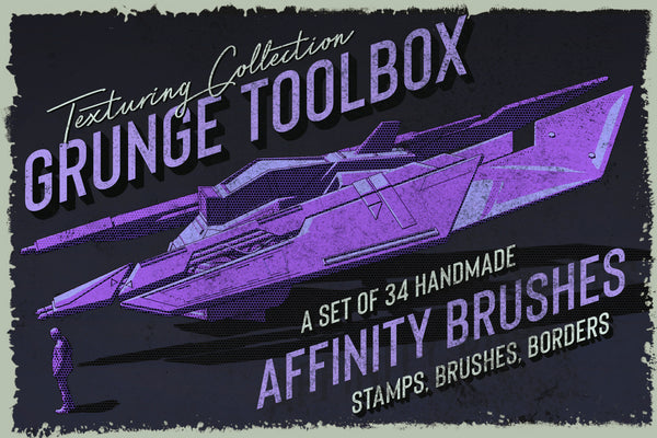 Grunge Toolbox Affinity Brushes