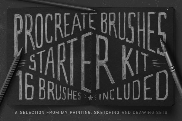 Procreate Brushes Starter Kit