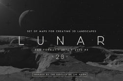 Lunar Landscapes Maps