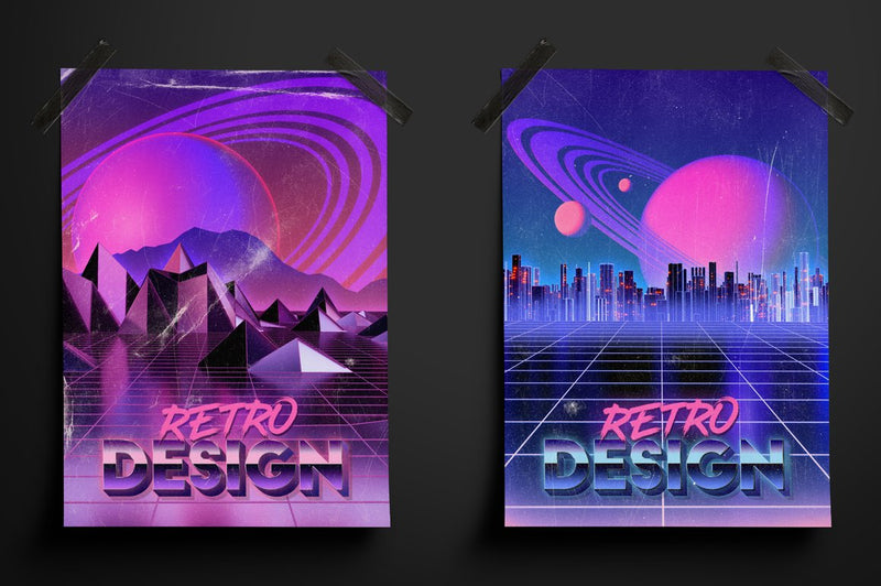 Retro Landscape Kit