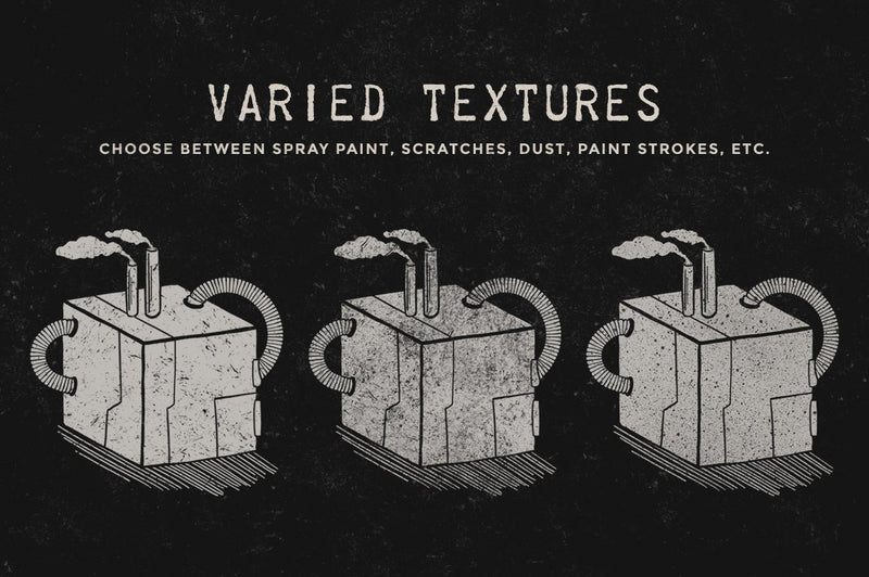 Grunge Texture Procreate Brushes