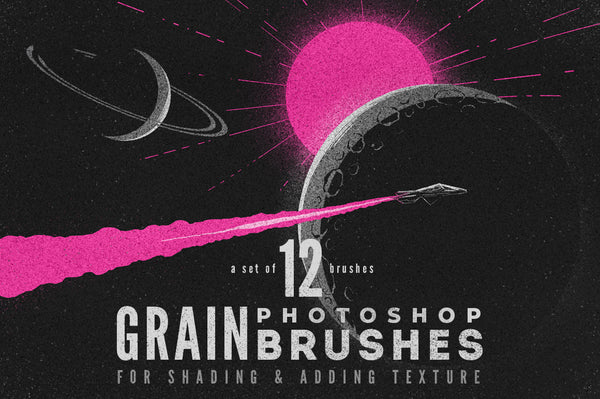 Grain Photoshop Brushes