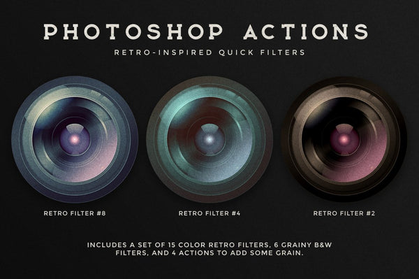 Photoshop Retro Photo Kit
