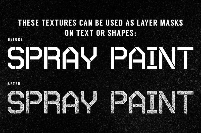 Spray Paint Textures