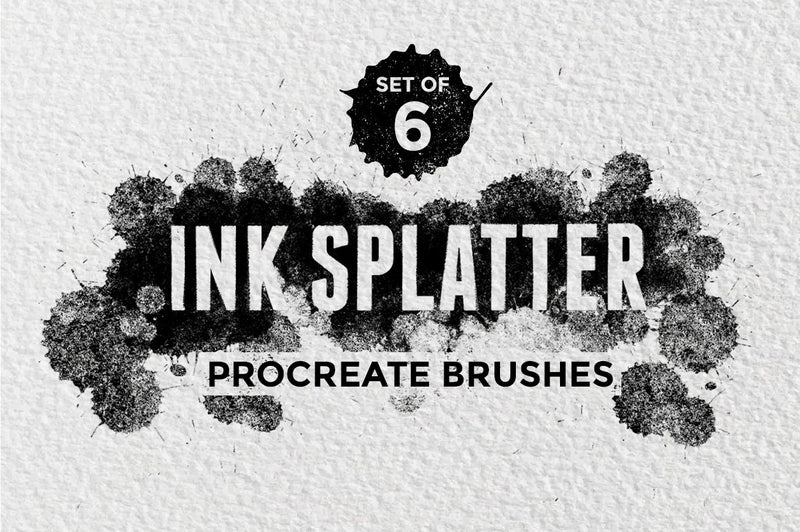 Ink Splatter Procreate Brushes