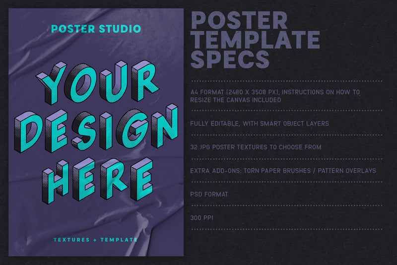 Poster Studio for Photoshop