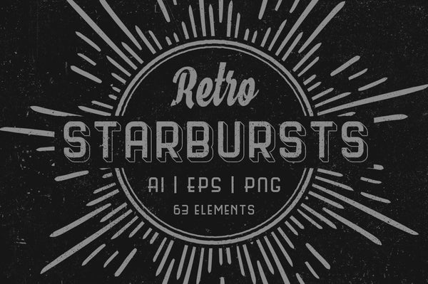 Retro Starbursts Vol. I