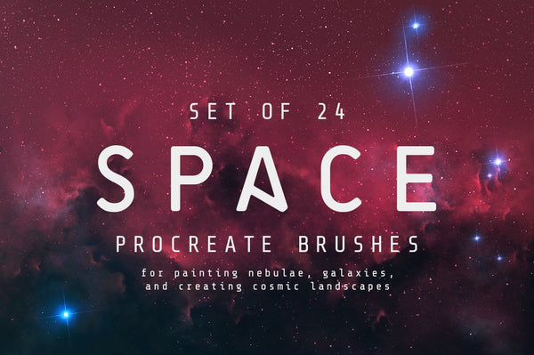 Space Procreate Brushes